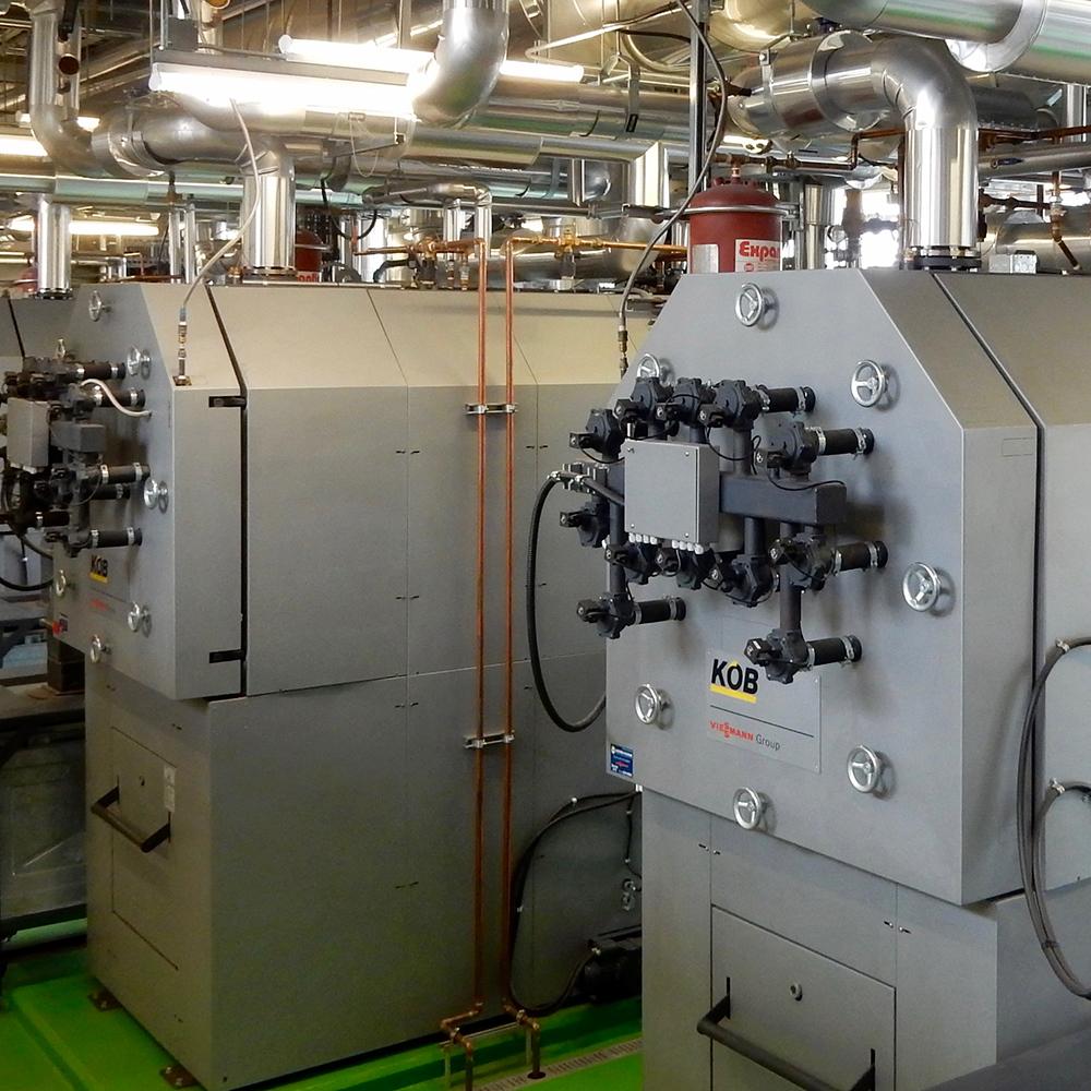 Chauffage biomasse à la Cité Verte, Ville de Québec
