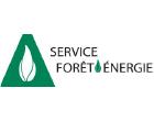 logo service forêt énergie